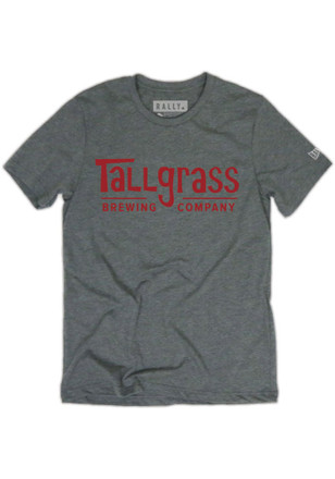 RALLY Mens Tallgrass Brewing Red Logo Fashion Tee