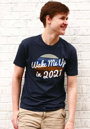 Rally Navy Wake Me Up In 2021 Short Sleeve T Shirt