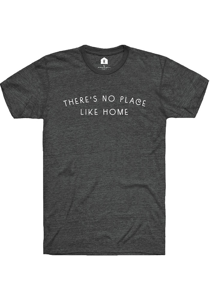 Kansas Dark Heather Grey No Place Like Home Short Sleeve T Shirt - Image 1