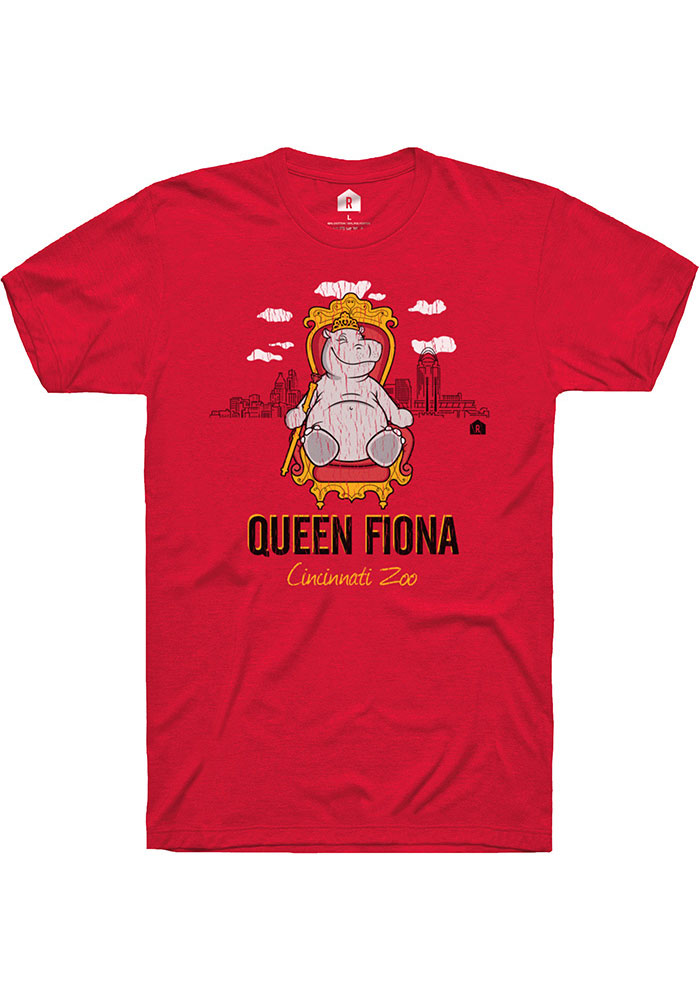 Fiona Heather Red Queen Short Sleeve T-Shirt - Image 1