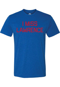Lawrence Heather Royal I Miss Short Sleeve T-Shirt