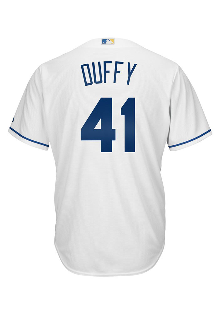 Danny Duffy 41 Kansas City Royals Mens Player White Authentic Coolbase Jersey - Image 1