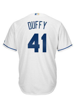 Danny Duffy KC Royals Mens Player white Jersey