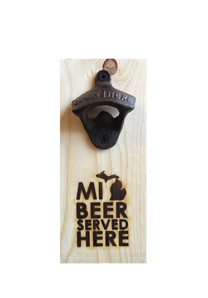Michigan Bottle Opener Bottle Opener - Image 1