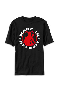 Made In Detroit Black Short Sleeve T Shirt
