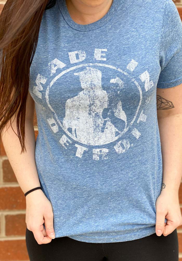 Made In Detroit Detroit Blue Made In Short Sleeve T Shirt - Image 4