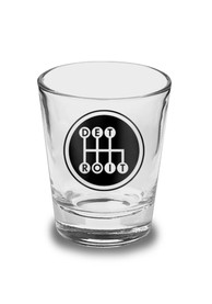 Detroit Black Shifter Shot Glass