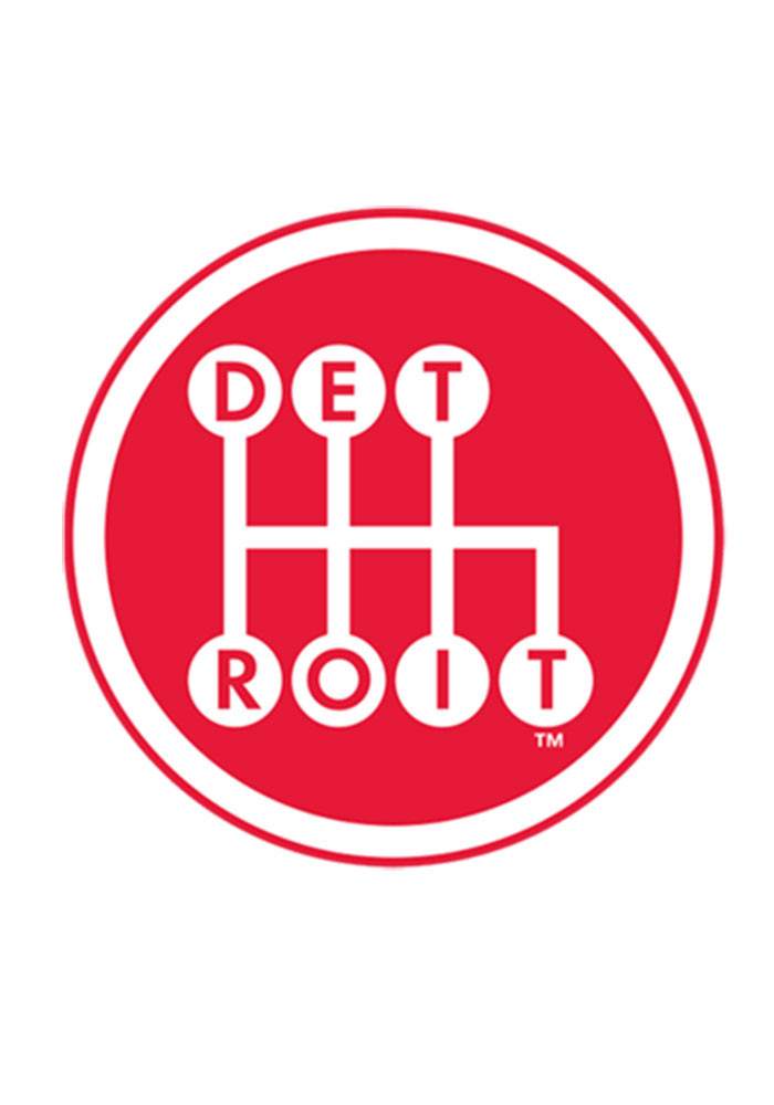 Detroit Detroit Shifter Red 6X6 Decal Decal - Image 1