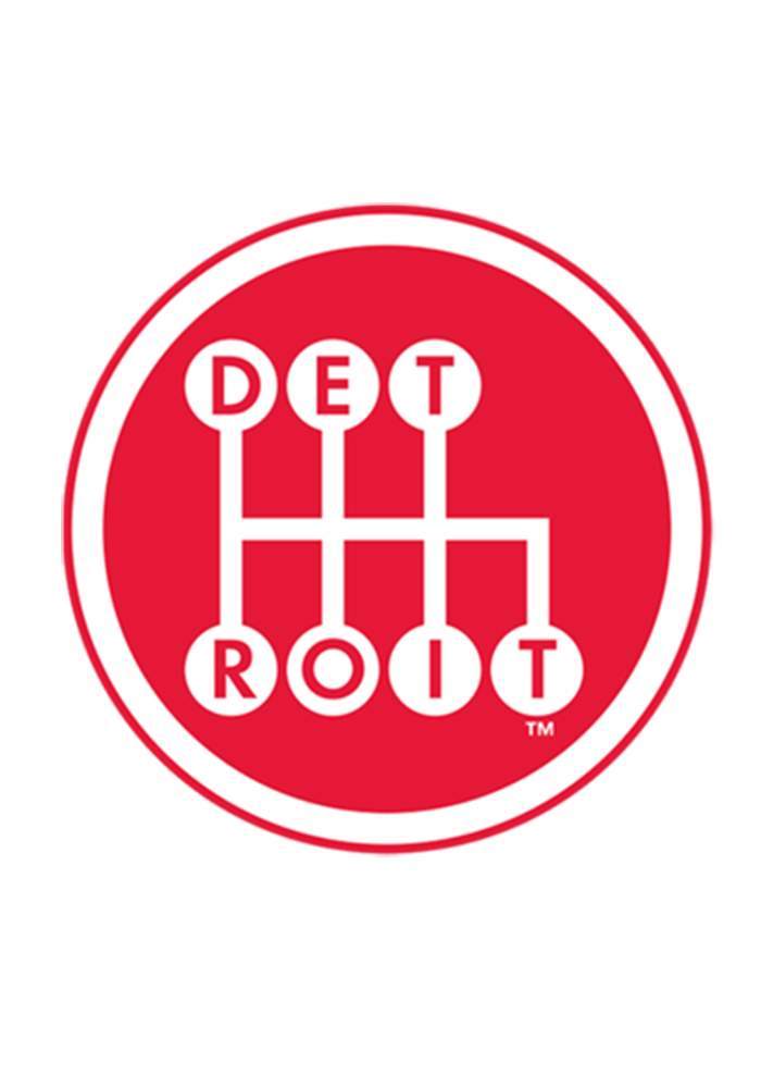 Detroit Detroit Shifter Red 6X6 Decal Decal - Image 2