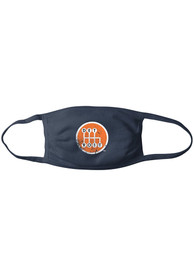 Detroit Made In Detroit Shifter Fan Mask - Navy Blue