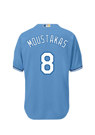 Mike Moustakas KC Royals Mens Replica Player Jersey