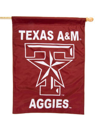 Texas A&M Aggies 30x40 Maroon Silk Screen Banner