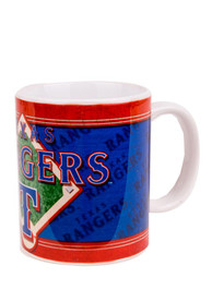 Texas Rangers 11oz Blue Felt Mug