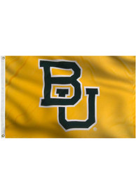 Baylor Bears 3x5 Gold Grommet Yellow Silk Screen Grommet Flag