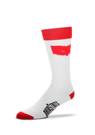 Ohio State Buckeyes Game Day Womens Crew Socks