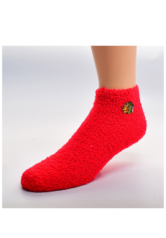 Chicago Blackhawks Sleep Soft Womens Quarter Socks - Image 1