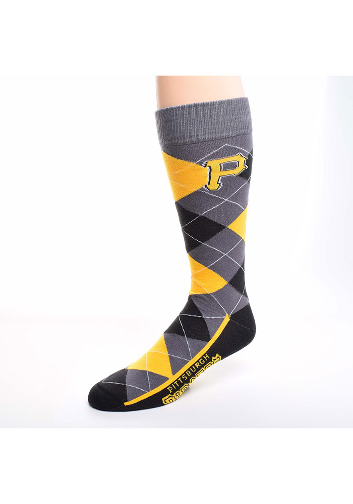 Pittsburgh Pirates Argyle Zoom Mens Argyle Socks - Image 1