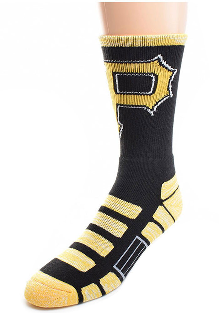Pittsburgh Pirates Patches Mens Crew Socks - Image 1