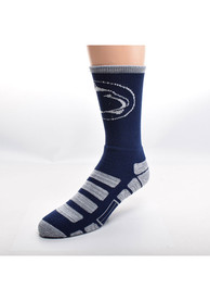 Penn State Nittany Lions Patches Crew Socks - Navy Blue