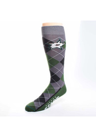 Dallas Stars Argyle Zoom Argyle Socks - Kelly Green