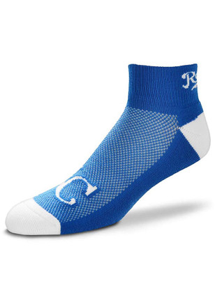 Kansas City Royals The Cuff Quarter Socks