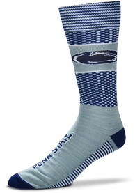 Penn State Nittany Lions Mojo Dress Socks - Grey