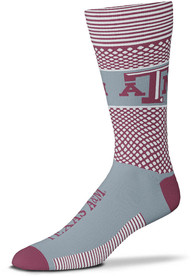 Texas A&M Aggies Mens Grey Mojo Dress Socks