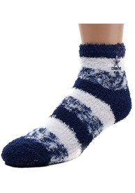 Dallas Cowboys Womens Stripe Quarter Socks - Navy Blue