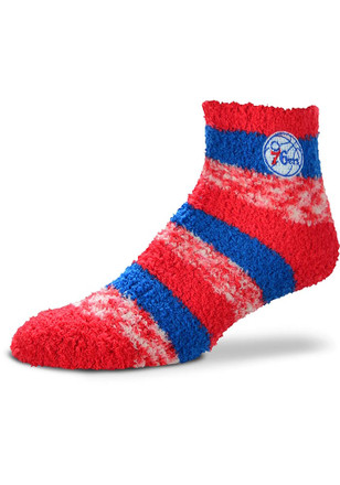 Philadelphia 76ers Sleep Soft Womens Quarter Socks