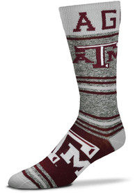 Texas A&M Aggies Stripealicious Dress Socks - Maroon