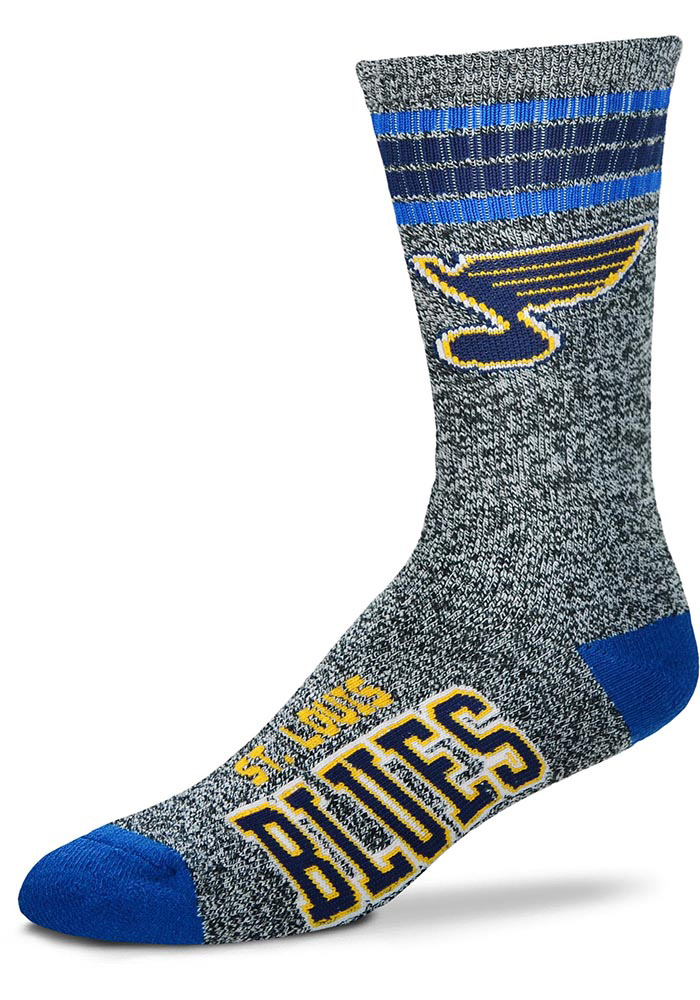 St Louis Blues Got Marbled? Mens Crew Socks - Image 1