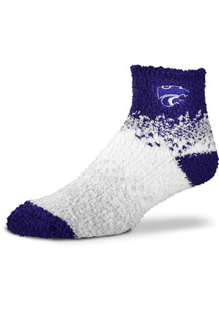 K-State Wildcats Marquee Womens Quarter Socks