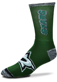 Dallas Stars Crush Crew Socks - Green