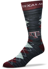 Texas A&M Aggies Fan Nation Argyle Socks - Red