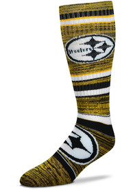 Pittsburgh Steelers Womens Going to the Game Knee Socks - Yellow