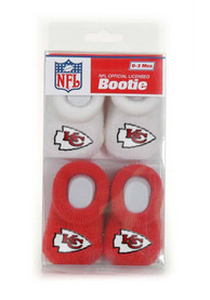 Kansas City Chiefs Baby 2pk Bootie Boxed Set - Red