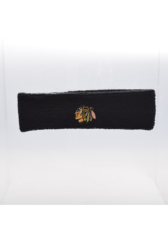 Chicago Blackhawks Team Logo Mens Headband - Image 1