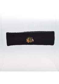 Chicago Blackhawks Team Logo Headband - Black