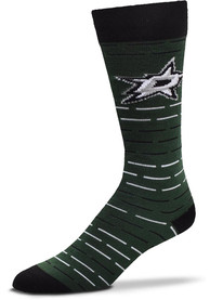 Dallas Stars Dash Stripe Dress Socks - Green