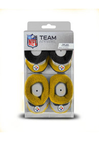 Pittsburgh Steelers Baby Pro Stripe Bootie Boxed Set - Yellow