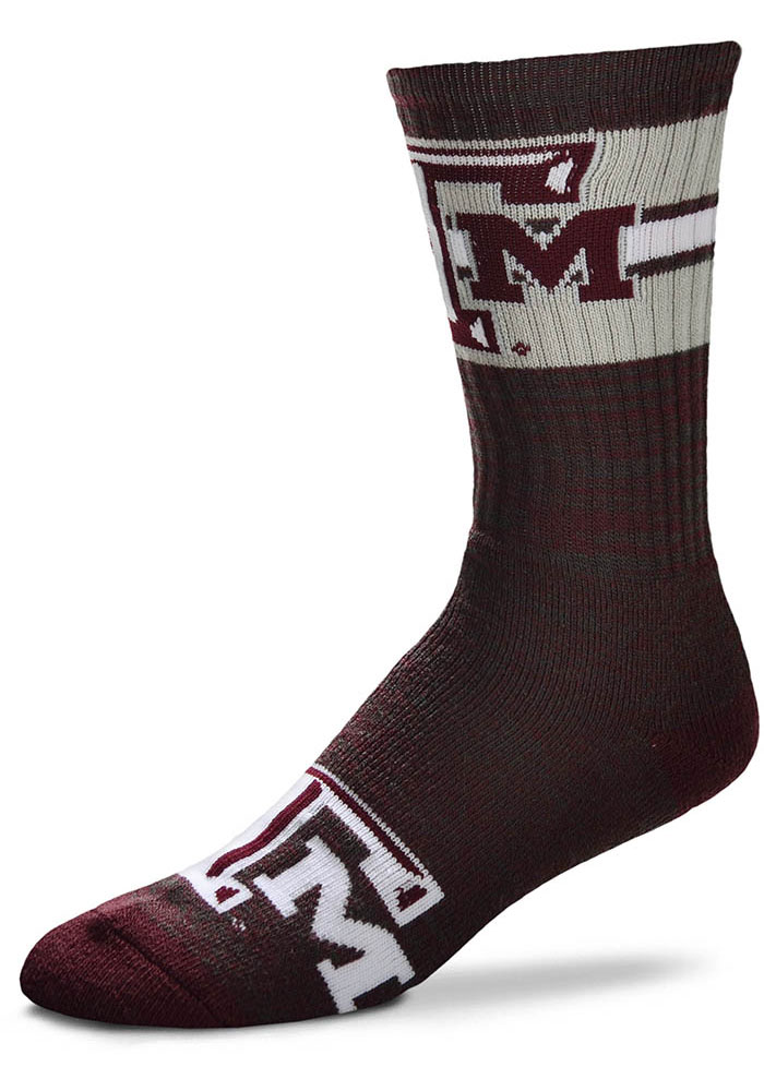 Texas A&M Aggies First String Crew Socks - Red