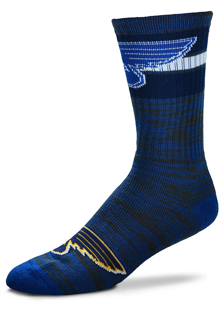 St Louis Blues First String Mens Crew Socks - Image 1