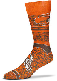 Cleveland Browns Game Time Dress Socks - Brown