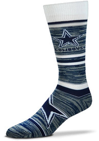 Dallas Cowboys Game Time Dress Socks - Navy Blue
