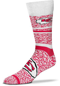 Kansas City Chiefs Game Time Dress Socks - Red