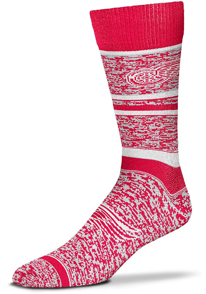 Detroit Red Wings Game Time Mens Dress Socks - Image 1