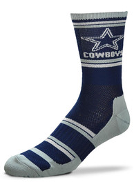 Dallas Cowboys Performer 2 Crew Socks - Navy Blue