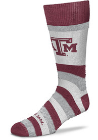 Texas A&M Aggies Womens Pro Stripe DST Crew Socks - Red