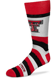 Texas Tech Red Raiders Womens Pro Stripe DST Crew Socks - Red