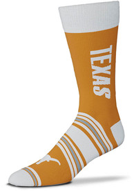 Texas Longhorns Go Team Dress Socks - Burnt Orange